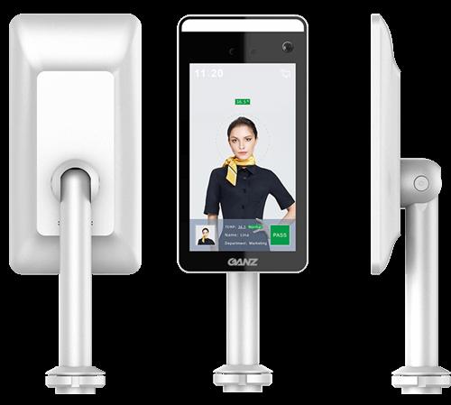 Smart Terminal bezdotykowy pomiar temperatury ciała